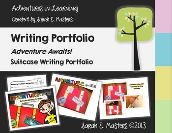 Suitcase Writing Portfolio - Pizza Box Writing Portfolio
