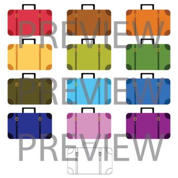 Suitcase clip art