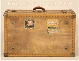 Suitcase of Compliments for Travel Theme Classsroom