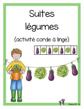 Suites légumes (Vegetable Patterns)