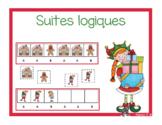 Suites logiques (régularités) Noël