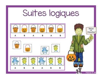 Suites logiques Halloween  (Halloween Patterns)