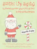 Suitin' Up Santa! {a Christmas cube game full of fun}