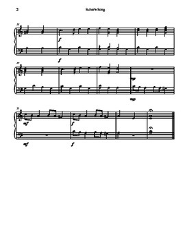 Suitor's Song for Tone Chimes/ Choir Chimes