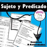 Sujeto y Predicado | Subject or Predicate in Spanish