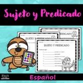 Sujeto y predicado (Hojas de Trabajos) | Subject and Predicate (Spanish)