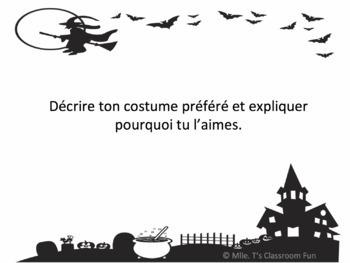 Sujets d'Écriture d'Halloween