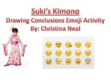 Suki's Kimono Emoji Drawing Conclusions Activity