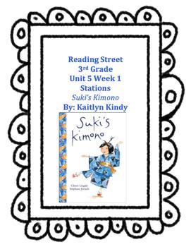 Suki's Kimono Reading Street Unit 5 Week 1