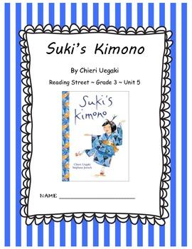 Suki's Kimono CCSS Comprehension Booklet Reading Street Unit 5
