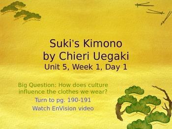 Suki's Kimono PowerPoint Reading Street 3.5.1