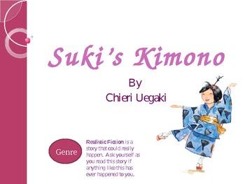 Suki's Kimono Vocabulary Slide Show