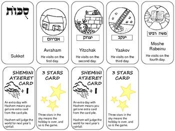 Sukkot Card Game