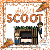 Sukkot SCOOT with Task Cards, Posters, Game and Mini Journal