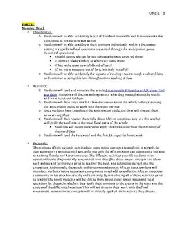 Sula Unit Plan