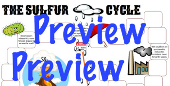 Sulfur Cycle Board Game/Notes