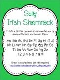 Sully Irish Shamrock Font