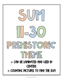 Sum 11-30 Prehistoric Theme