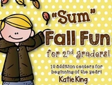 """Sum"" Fall Fun for 2nd Graders"