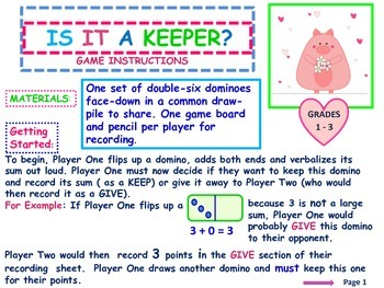 Addition Facts To 12 With Problem Solving