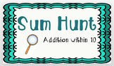 Sum Hunt: Addition within 10