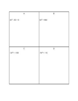 Sum It - Solving Quadratic Equations