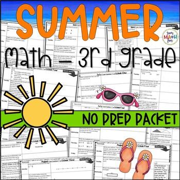 Summer: Math Activities For Third Grade