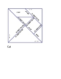 Sum and Difference of Cubes Tangram Puzzles - 5 puzzles (over 30 problems)