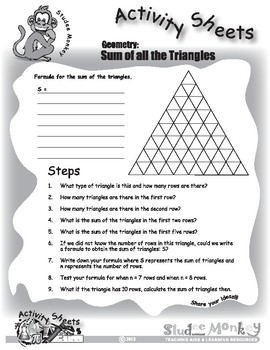 Sum of All the Triangles