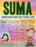 Suma Spanish Math Vocabulary Games - Easel Digital Activities