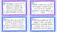 Suma y Resta Word Problem Task Cards