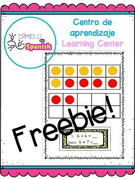 Sumar dobles mas uno (Centro de aprendizaje) Doubles plus one (Learning Center)