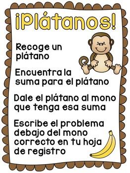 Sumar y restar números con 2 dígitos (Spanish Unit 13)