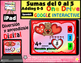 Sumas del 1 - 5 Febrero Adding 1-5 February Google Drive PowerPoint iPad