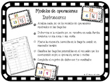 Sumas o restas - Spanish Classification Game & Worksheets - Model Drawing