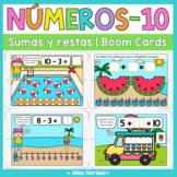 Sumas y restas a 10 Boom Cards | Digital Addition and subt