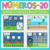 Sumas y restas a 20 Boom Cards | Addition and subtraction