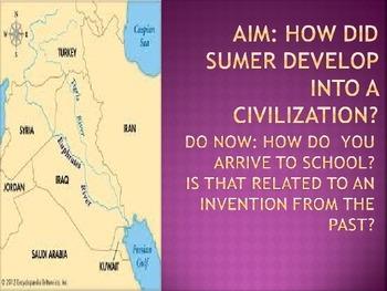 Sumer River Valley Civilization
