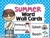 Summer Word Wall Cards!
