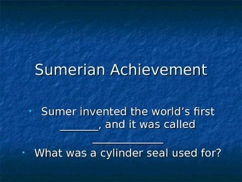 Sumerian Achievement