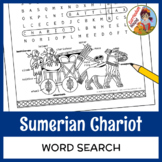 Sumerian Chariot Word Search - Mesopotamia, Standard of Ur