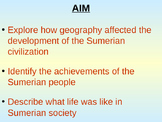 Sumerian Civilization: Ancient Sumer