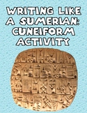 Sumerian: Cuneiform Activity