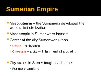 Sumerian Empire