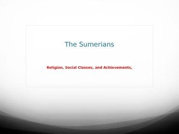 Sumerian Power Point
