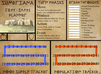 Sumeriana - Mesopotamia City-State Simulation Game