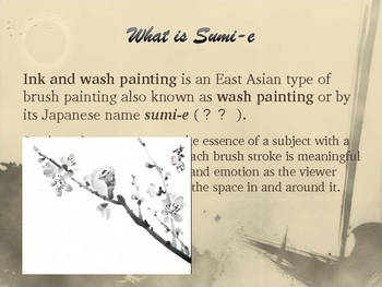 Sumi-e Ink Painting