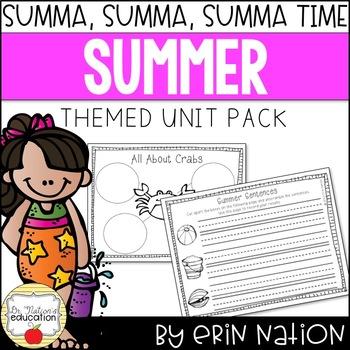 Summa Summa Summa Time {Math, ELA summer activities, and more!}