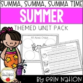 Summer {Math, ELA summer activities, and more!}
