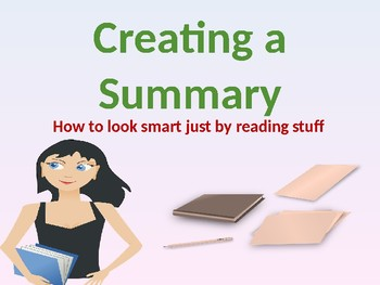 Summaries, main ideas, and details - Introduction, explanation, and practice